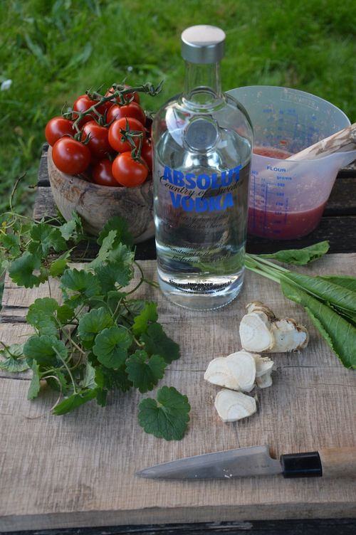Bloody mary ingredients 1